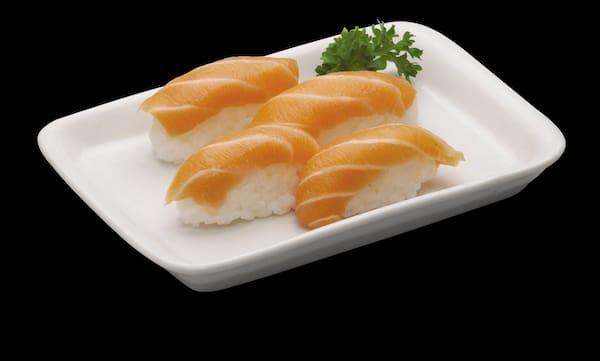 4 sushi de salmao (só hoje)