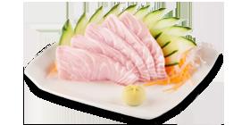 Sashimi Peixe Branco - 5 unidades
