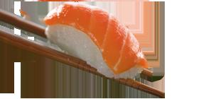 Niguiri salmão 2 unidades