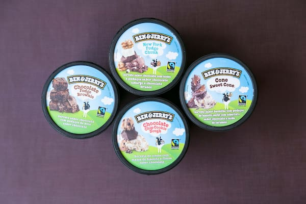 Sorvetes ben jerry