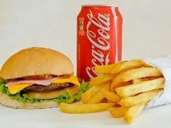 x salada+batata frita+ref lata