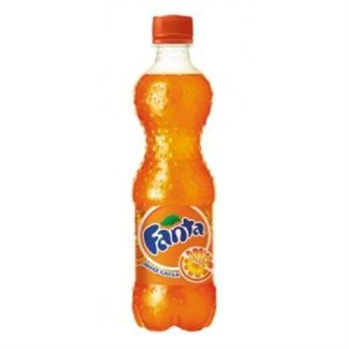 Fanta laranja - 600 ml