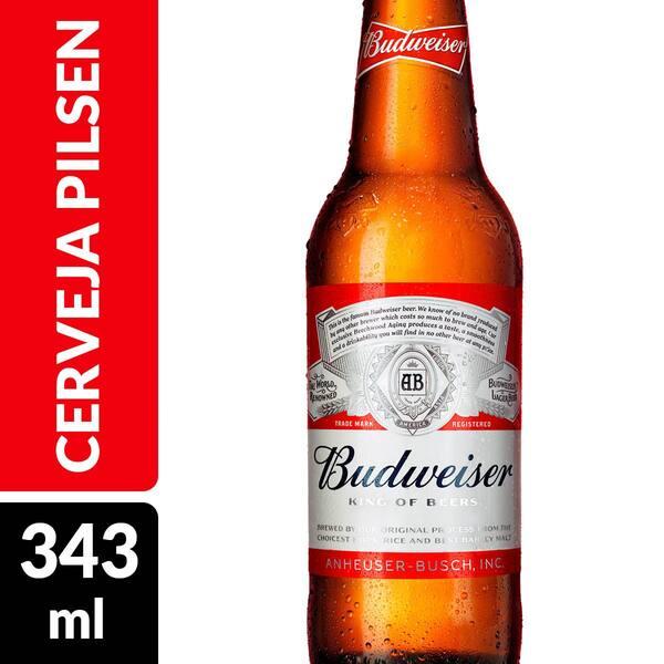 Budweiser 330ml long neck