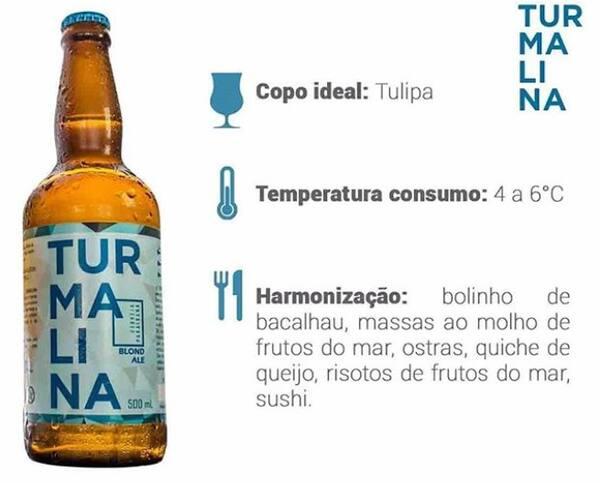 Turmalina Blond Ale 500ml