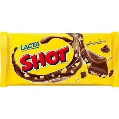 Chocolate lacta shot 90g