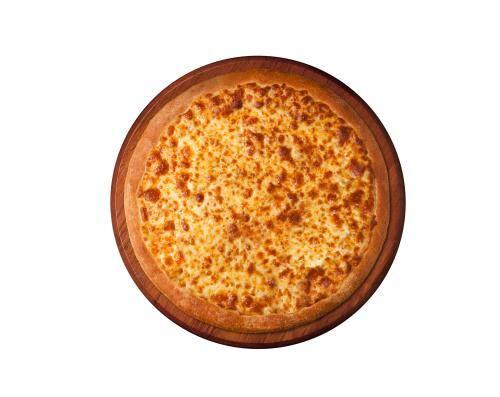 Pizza de mussarela - individual - 4 fatias