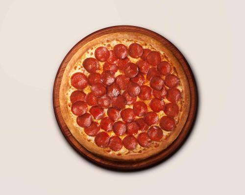 Pizza de pepperoni  - individual - 4 fatias