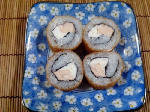 Uramaki hot roll