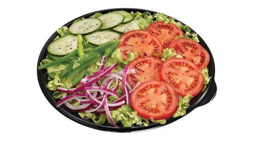 Salada carne e queijo
