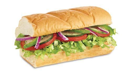 Sanduíche vegetariano  - 15cm