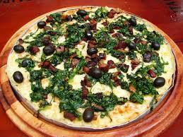 milho verde, marguerita, napolitana, escarola  - Promoção Pizza Grande
