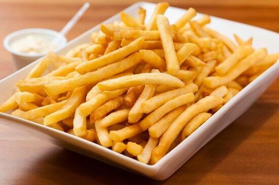 Porção de fritas
