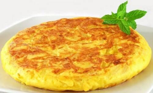 Promoção - marmitex de omelete + 1 acompanhemento