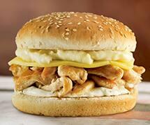 Big x frango + refri lata + fritas 200g  por R$29, 90