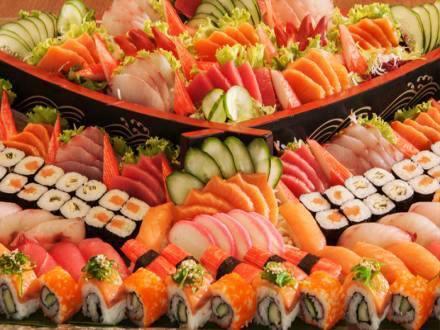 Combinado de salmão - 60 peças