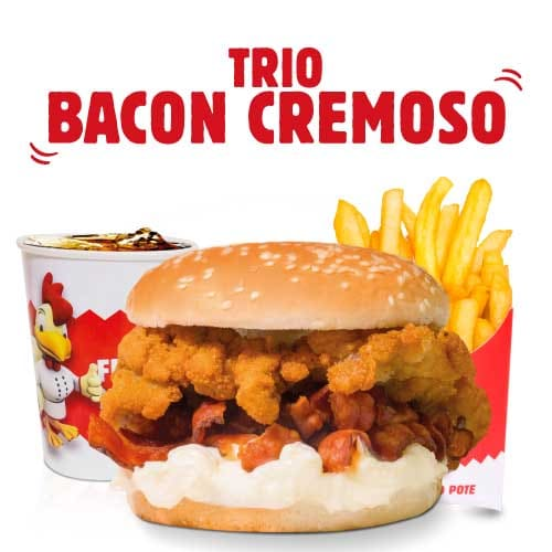 Trio bacon cremoso