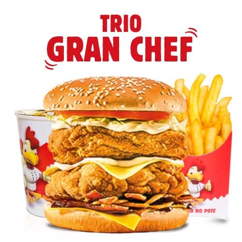 Trio gran chef
