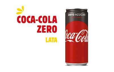 Refrigerante em lata - Coca-Cola zero