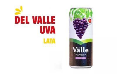 Suco dell vale lata - uva