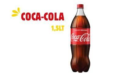 Refrigerante 1, 5 litros - Coca-Cola