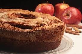 Bolo de maçã com canela pequeno - 450g