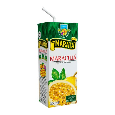 Suco de maracujá - marata 200ml