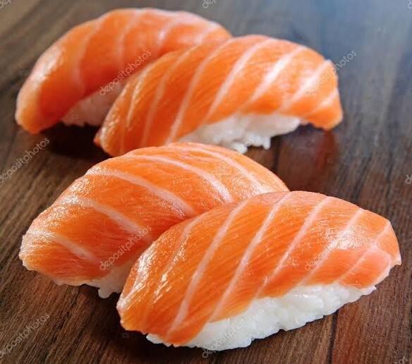 Niguiri salmão