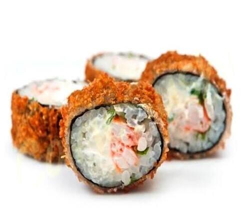 Sushi hot camarão