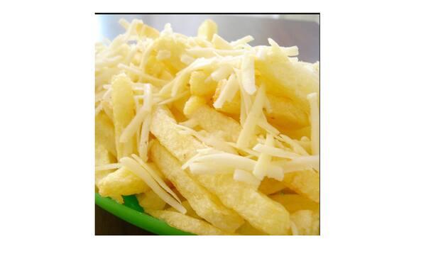 Batata frita com MUSSARELA
