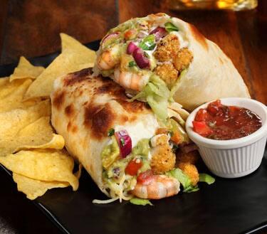 Burrito fish & shirmp