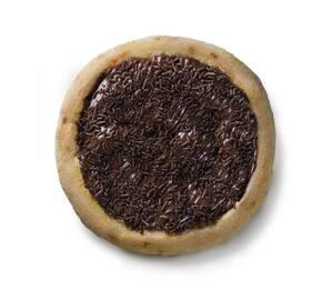 Pizza brotinho de chocolate