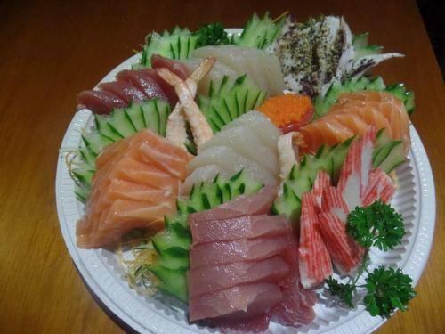 Sashimi jumbo (40 peças)