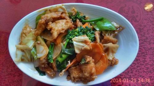 70- filé de peixe com legumes