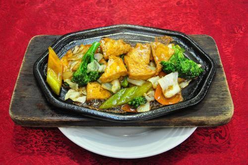 79- tofu com legumes na chapa