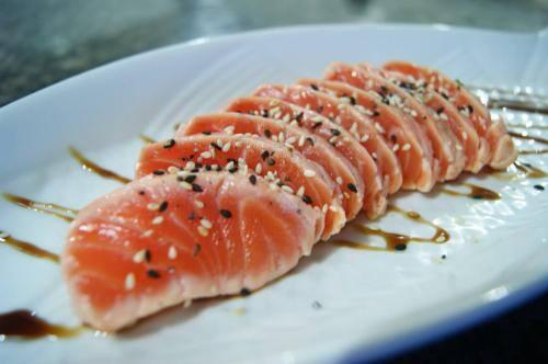 Sashimi grill  (4 unidades)