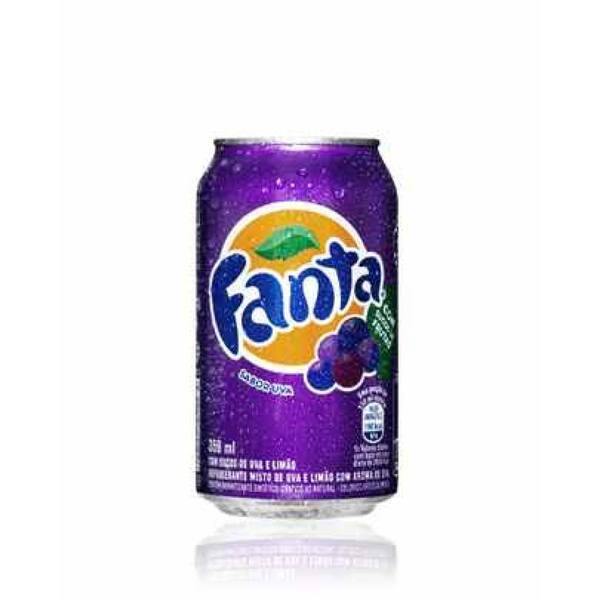Refrigerante Em Lata Fanta Uva