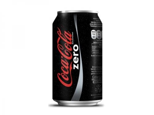 Coca Cola zero lata 350ml