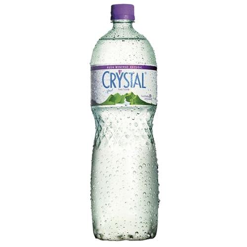 Água mineral crystal com gás 1, 5 litro