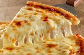 Pizza lanche 3: mozzarella (broto) + refrigerante lata