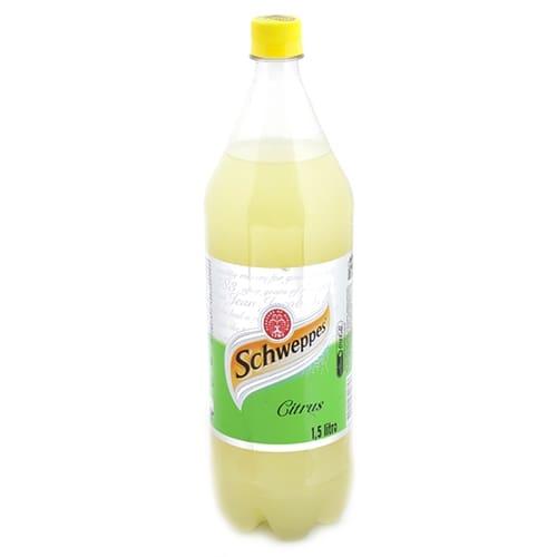 Schweppes citrus 1, 5 litro