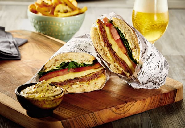 Milanesa Sandwich (batata rústica)