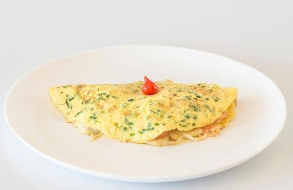 Omelete frango