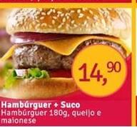 Lanche hambúrguer