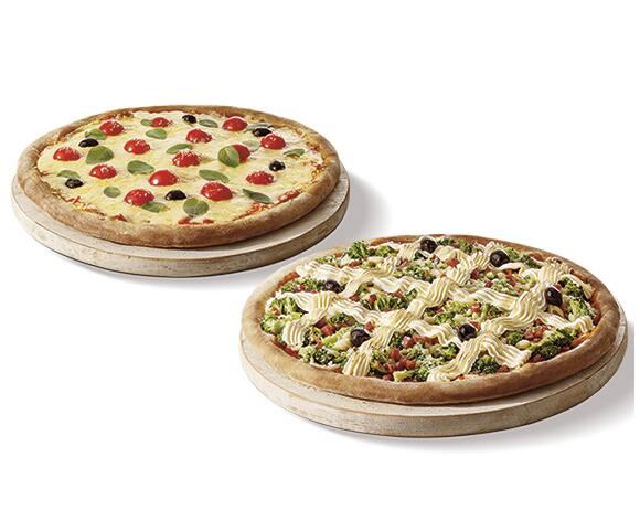 Pizza casadinha belezzuras