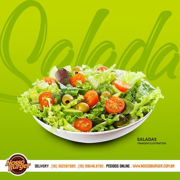 Salada - filé grelhado