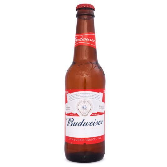 Cerveja long neck - Budweiser