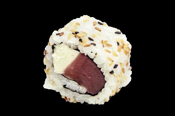 Uramaki atum cream cheese