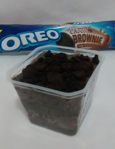 Bolo no pote Oreo sabor choco brownie (1 unidade disponivel para compra)