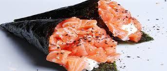 Temaki de salmão - 2 unidades