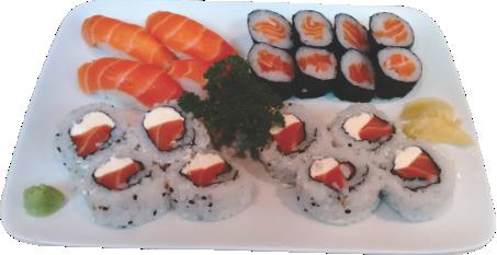 Sushi salmão - 20 unidades